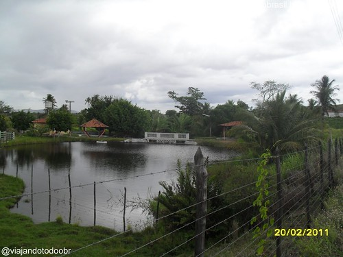 Coité do Nóia - Lagoa na entrada da cidade
