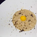 Carolina Gold rice, black truffle, duck egg, Parmigiano