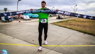 7 maratonů na 7 kontinentech za 7 dní. Vabroušek podruhé na bedně