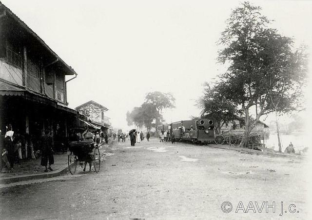 AP4752-Breton - Saïgon, 1904 – Le tramway
