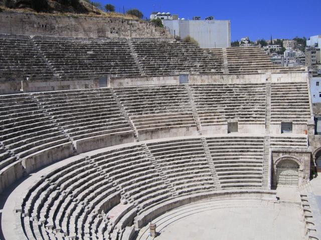 Teatro romano de Ammán (Jordania)