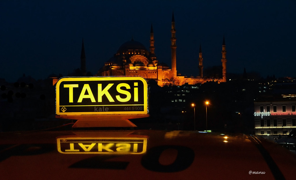 taksi, istanbul