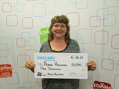 DeNae Hickman - $1,000 Bonus Numbers