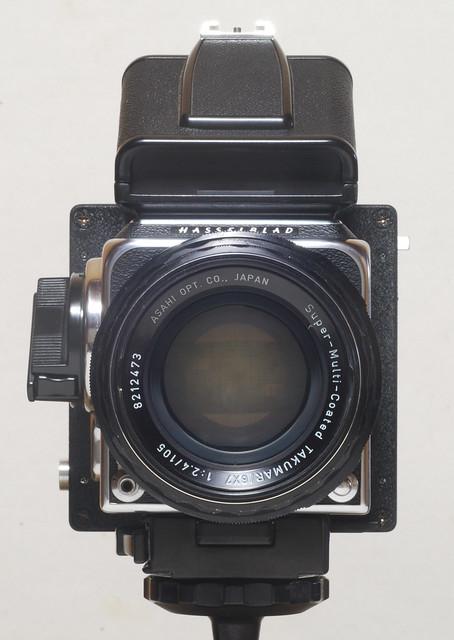 PENTAX 67 lens wearing