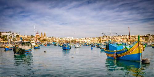 Malta, Marsaxlock   - - - Explore #86   1st July 2015
