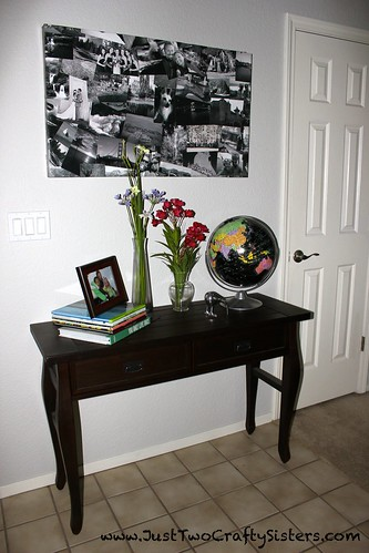 Ikea Hack - Table to Wall Art