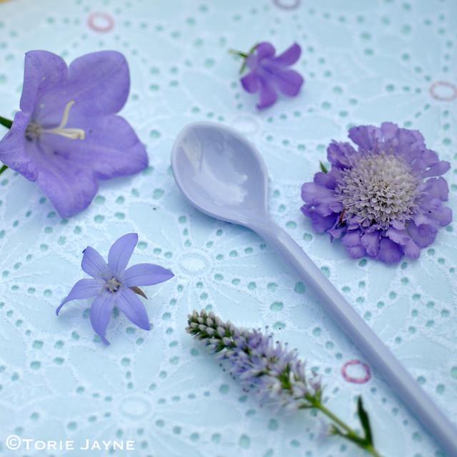 Lavender spoon
