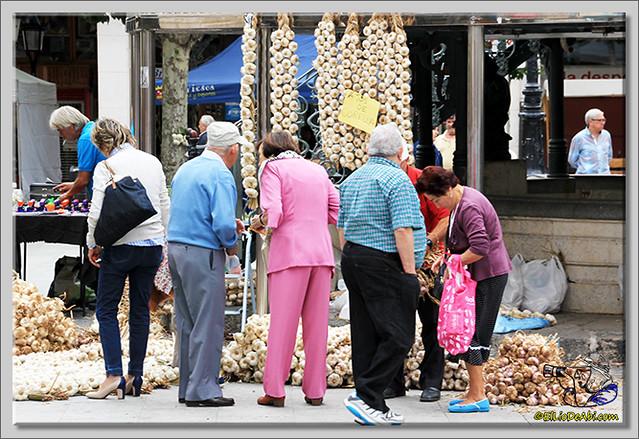 Feria de los ajos en Briviesca (2)