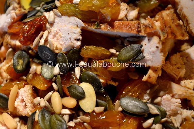 Salade de Courgettes au Poulet © Ana Luthi Tous droits réservés 008