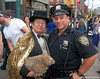 Dr. Takeshi Yamada and Seara (sea rabbit) visited the Gay Pride Parade in Manhattan, New York on June 28, 2015. The US President Barack Obama supports same-sex marriage. gay marriage. 100_8363=C by searabbits23
