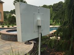 Tue, 07/14/2015 - 11:25 - ACME TV weatherproof outdoor enclosure with 55' 4K TV- phctoys.com