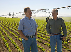 Oregon farmers help conserve groundwater with efficient irrigation