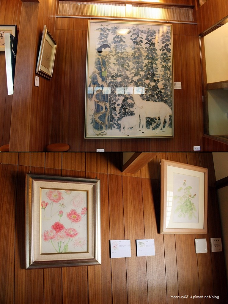 19770770601 9626b547b3 b - 遊記。台中西區【林之助紀念館】台灣膠彩畫之父林之助畫室,歷史日式建築修復再利用
