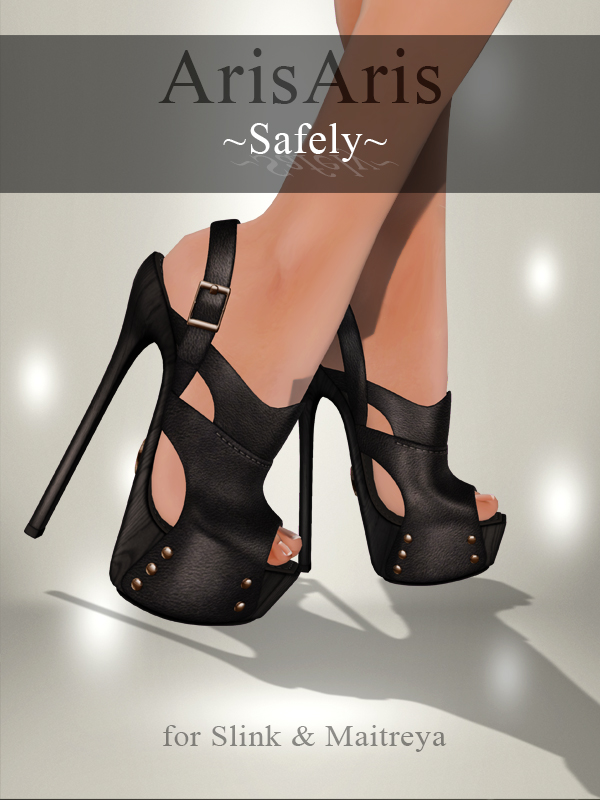 ArisAris/B&W~Safely~High Heels Sandals