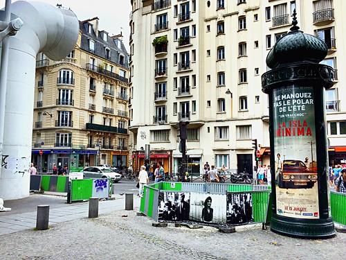 Paris, quartier Beaubourg