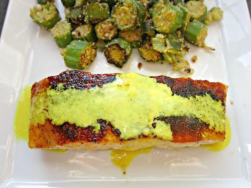 Paprika-Turmeric Salmon