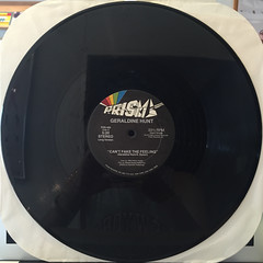 GERALDINE HUNT:CAN'T FAKE THE FEELING(RECORD SIDE-A)