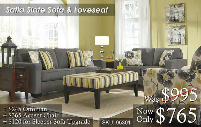 Safia Slate Living Room