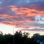 Sunset over Preston