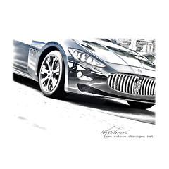 Prints of your Car on request - http://www.autozeichnungen.net
