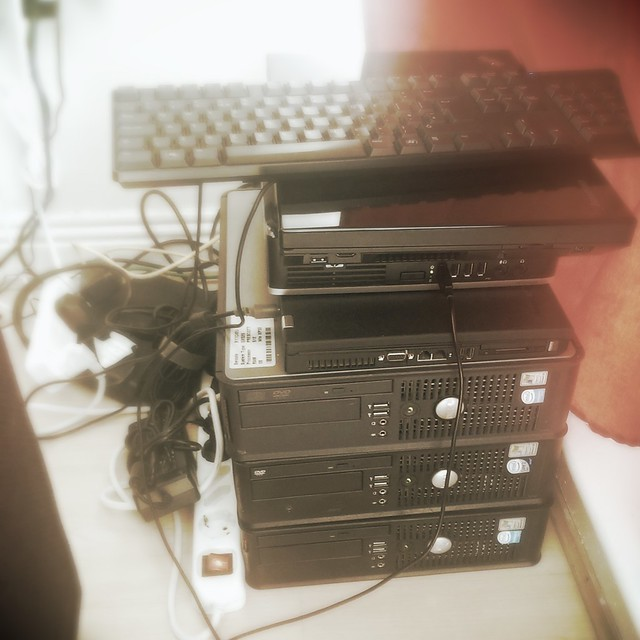 My home-made cluster