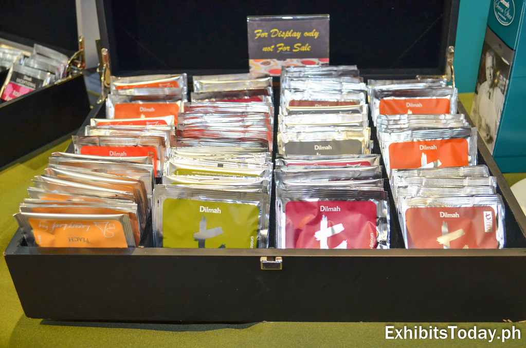 Dilmah Tea Product Displays