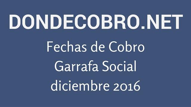 Garrafa Social Diciembre 2016