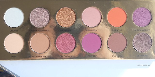 Coloured Raine Queen of Hearts Palette3