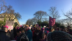 WMW Sister March in Edinburgh, 21st January 2017