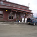 #50a The Blind in front of the Alaska Cab Garage, Notice that it started out clean anyway, Nome Alaska, Photo by Sam