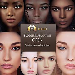 Blogger-Applications OPEN