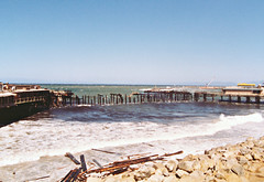 The Horseshoe Pier, Redondo Beach, After The Fire