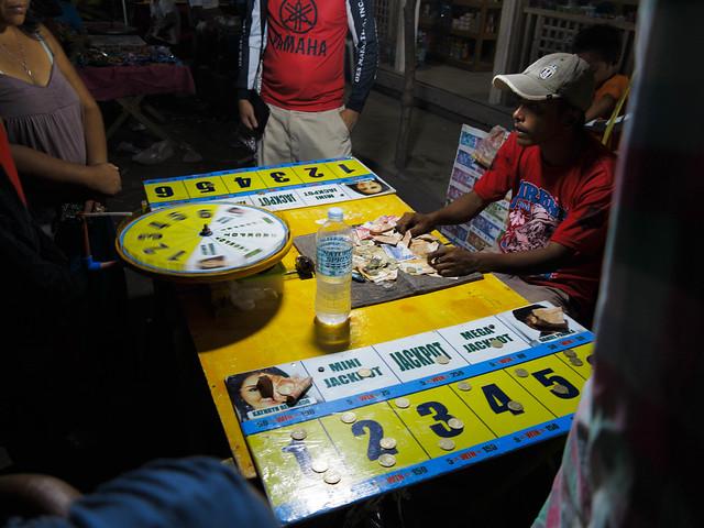 Gamling i markedsgata