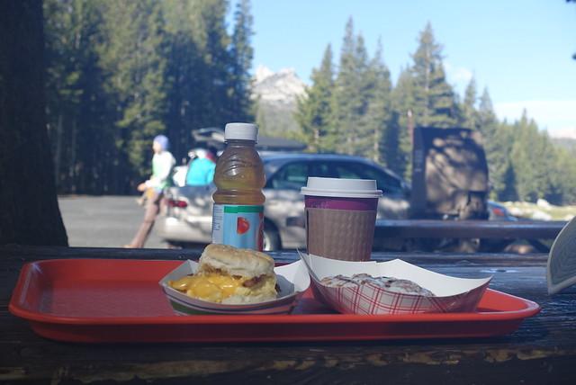 Mmmm breakfast at T Meadows Grill