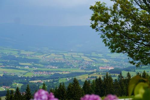 alps abbey landscape austria österreich alpen landschaft kloster steiermark autriche styria abtei wechsel gewitterfront joglland vorau masenberg thunderyfront wanderung20150530