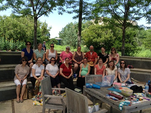Outdoor Sewing Day May 2015