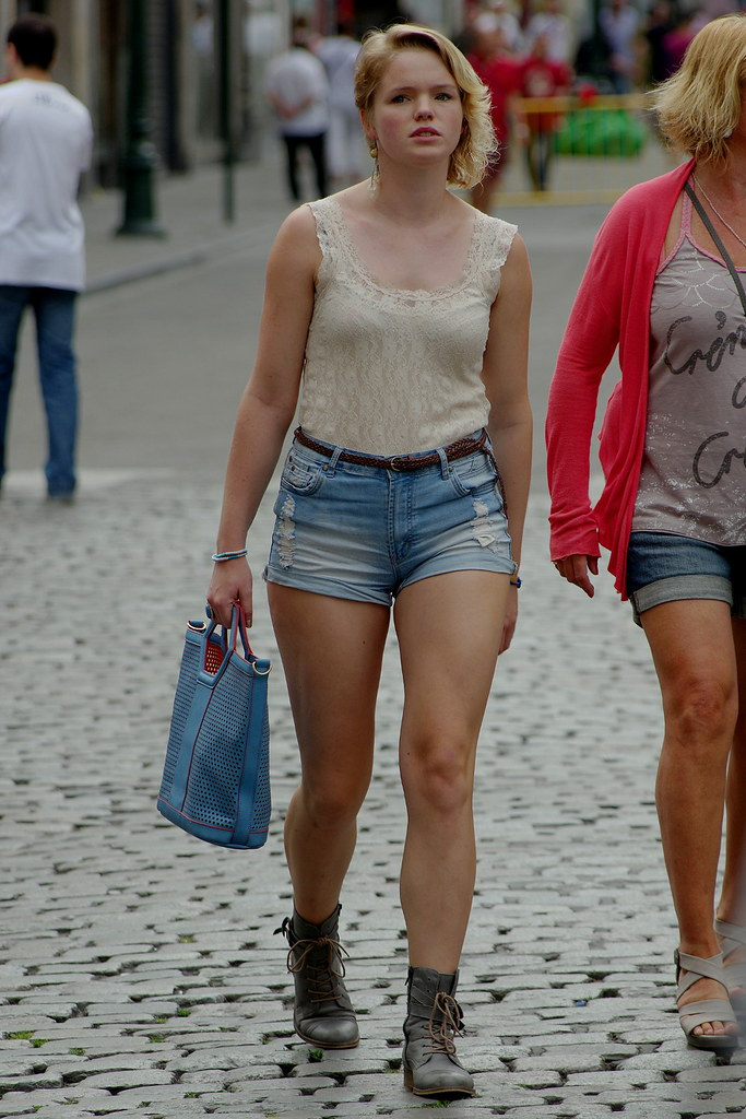 Great Legs Tight Shorts 1 Booster Again Flickr
