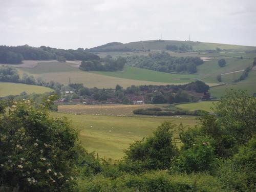 St. Roche's Hill behind Charlton