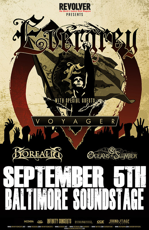 Evergrey at Baltimore Soundstage