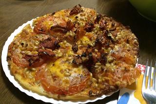 Maine - Pat's Magherita pizza