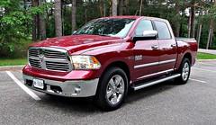 dodge ram rumble bee(0.0), dodge ram srt-10(0.0), automobile(1.0), automotive exterior(1.0), pickup truck(1.0), wheel(1.0), vehicle(1.0), truck(1.0), ram(1.0), grille(1.0), bumper(1.0), land vehicle(1.0),