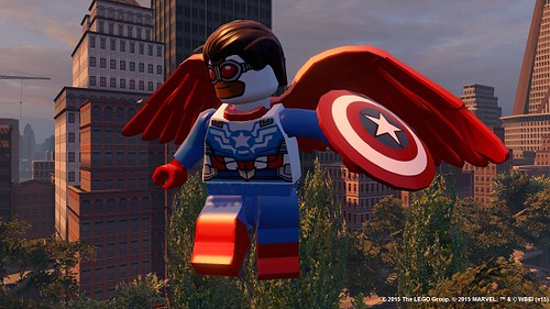 LEGO Marvel's Avengers Sam Wilson Captain America