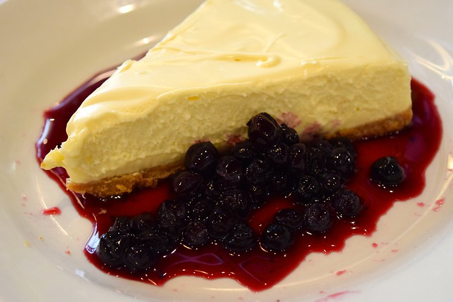 White Chocolate Cheesecake at Byron Burger, Canterbury