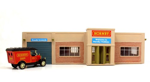 Finished Hornby Building