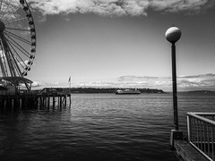 Ferry and Ferris Wheel