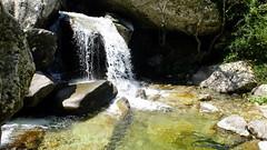 La vasque-cascade de la Pinara