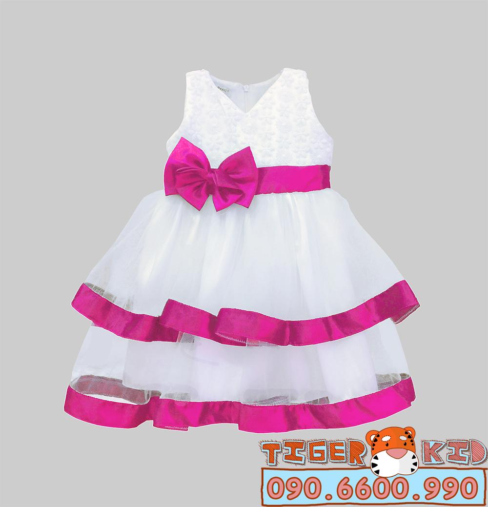 Đầm dạ hội bé gái 1T-8T (10-30kg)+10k/size