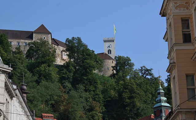 Castle in Ljubljana