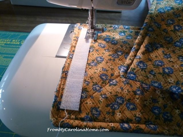 Alzheimer's Fidget quilt 2