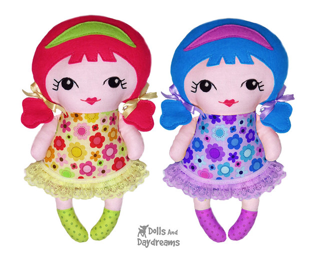 Tiny Tilda Sewing Pattern